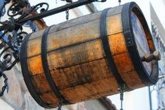 Beer barrel royalty free stock photo