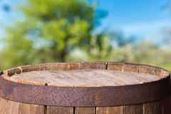 Beer barrel Stock Photography
