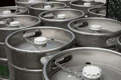 Beer barrels Royalty Free Stock Images