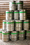Beer barrels Royalty Free Stock Image