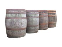 Beer barrels Royalty Free Stock Photography