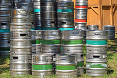 Beer barrels Royalty Free Stock Photos