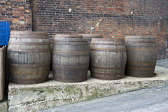 Beer barrels Royalty Free Stock Photos