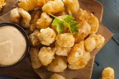 Beer Battered Wisconsin Cheese Curds Stock Photography