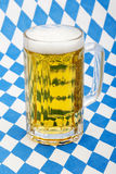 Beer at bavarian Oktoberfest Royalty Free Stock Images