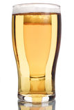 Beer on beer. Beer glass bubbles drink pint royalty free stock photos