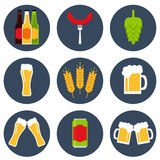 Beer. Beer icon. Stock Image