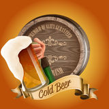 Beer BEST QUALITY WOOD Stock Photography