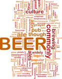 Beer beverage background concept Stock Photo
