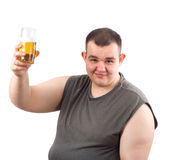 Beer bibber Stock Photography