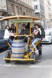 Beer bike Stock Images