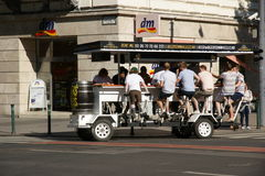 Beer bike pub Royalty Free Stock Photography