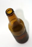 Beer bottle. Over white background royalty free stock images