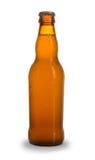 Beer bottle. Bottle of beer, isolated on white background Stock Image