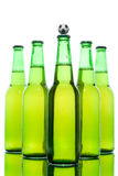 Beer in a bottle Stock Photography