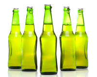 Beer in a bottle Stock Photo