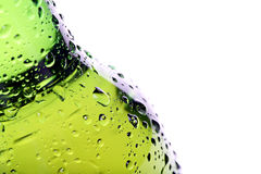 Beer bottle abstract isolated Stock Photography
