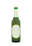 Beer bottle with blank labels Stock Photo