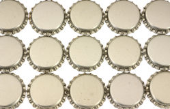 Beer bottle caps Royalty Free Stock Images