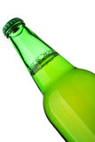 Beer bottle close-up Royalty Free Stock Photos