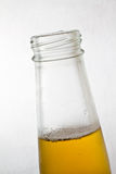 Beer bottle close up Royalty Free Stock Photography