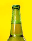 Beer bottle detail Royalty Free Stock Photography