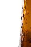 Beer bottle detail Royalty Free Stock Images