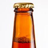 Beer Bottle Detail Stock Image