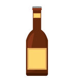 Beer bottle drink pour Royalty Free Stock Photo