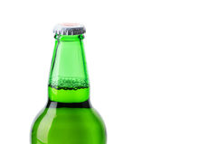 Beer bottle green Royalty Free Stock Images