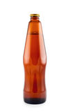Beer Bottle Isolated. Royalty Free Stock Images