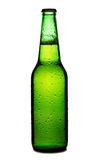 Beer bottle isolated Royalty Free Stock Photos