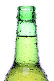 Beer bottle isolated Stock Photography