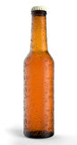 Beer Bottle isolated. Royalty Free Stock Photography