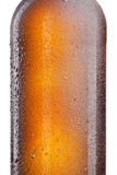 Beer bottle isolated on white Royalty Free Stock Photos