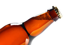 Beer bottle isolated on white Stock Photo