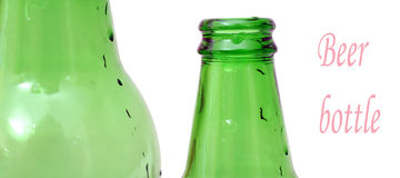 Beer bottle neck Stock Photo