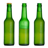 Beer bottle set Stock Photos