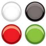 Beer bottle top Stock Photography