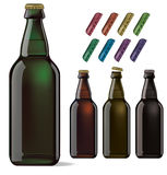 Beer bottle . Royalty Free Stock Photos