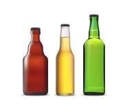Beer bottles stock illustration