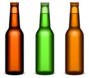 Beer bottles. Royalty Free Stock Images