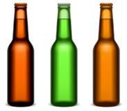 Beer bottles. vector illustration