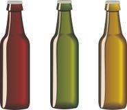 beer bottles in format Adobe Illustrator Royalty Free Stock Photo
