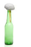 Beer Brain Disease Royalty Free Stock Photo