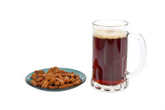Beer and breads Royalty Free Stock Images