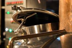 Beer brewery equipment Stock Photos