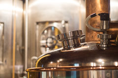 Beer Brewery kettle Royalty Free Stock Photos