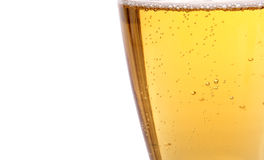 Beer and bubbles Royalty Free Stock Photography