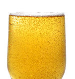Beer and bubbles. In bottle Royalty Free Stock Photos